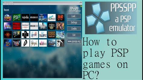 Emulators For Psp Games