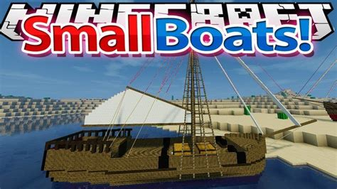 Boat Mod Minecraft 1 11 2 by Small Boats Mod For Minecraft 1 11 2 1 10 2