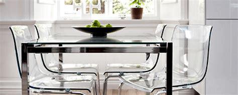 chaise transparente ikea un meuble moderne et transparent