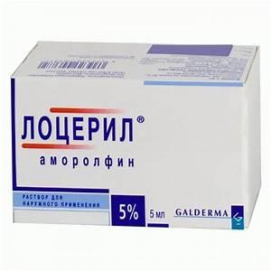 Лекарственные средства против грибка ногтей
