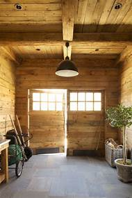 Rustic Garden Shed Interiors