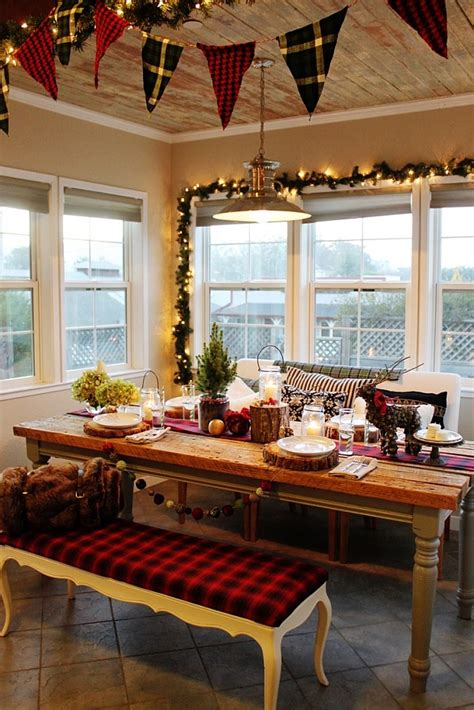 christmas kitchen curtains tablecloth window design ideas