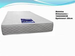 Promo Matelas 160x200 : promo matelas 160x200 trendy matelas focus x cm zones en blue latex with promo matelas 160x200 ~ Teatrodelosmanantiales.com Idées de Décoration
