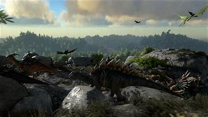 Ark Survival Evolved Dinosaurs Unreal Dx12 Open