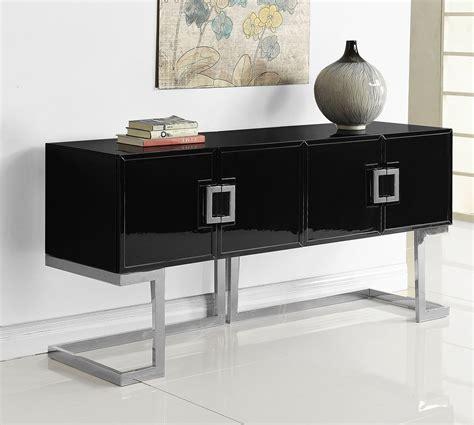 Black Sideboard Buffet by Beth Sideboard Buffet Black Chrome By Meridian