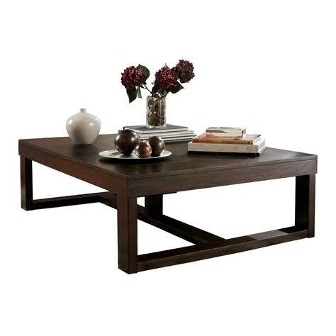 signature design by coffee table signature design by t481 1 watson rectangular
