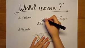 Winkel Berechnen übungen 7 Klasse : klasse 6 wie messe ich einen winkel youtube ~ Themetempest.com Abrechnung