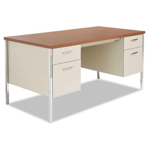 metal desk for alesd6030pc alera 174 pedestal steel desk zuma