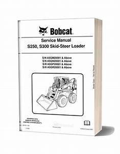 Bobcat S250 S300 Hydraulic Excavator Service Manual 6987039