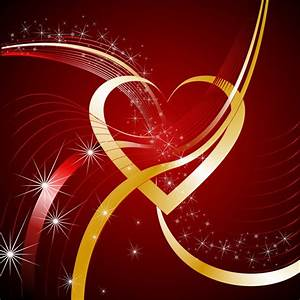 Bright Background With Heart Free Stock Photo