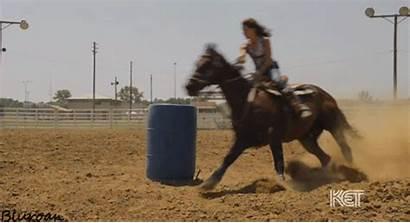 Western Racing Barrel Horse Gifs Horses Riding