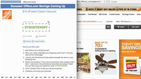 Home Depot Coupon Code 2013  How To Use Promo Codes And