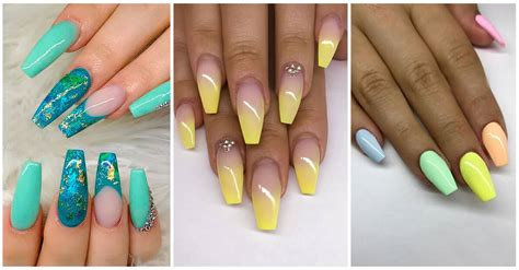 teal coffin nails amazing nails    acrylic nails