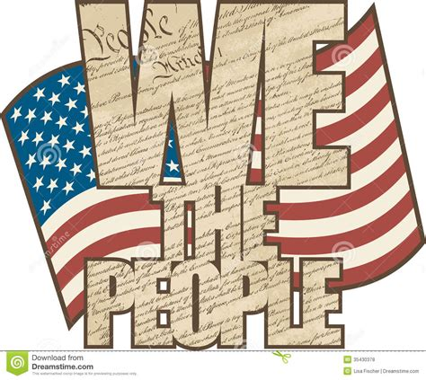 United States Constitution We the People