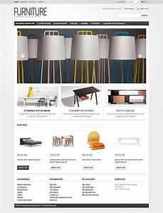 52 Best Interior Furniture Website Templates Images On