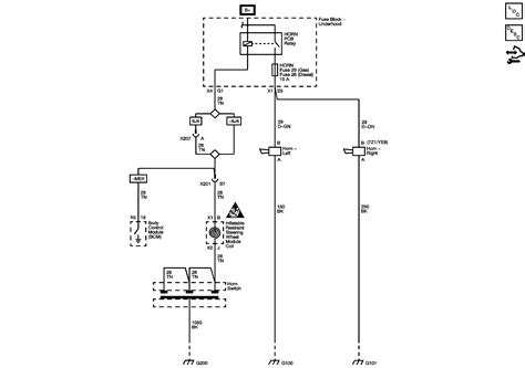 looking for a horn wiring diagram for a 2008 chevy