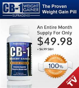 Weight Gain Pills for Women | CB-1 Weight Gainer