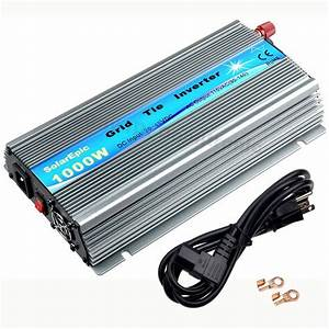 1000w Grid Tie Inverter Dc20v 72cells Panel Solarepic Power