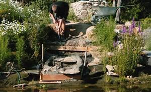 Teich Mit Wasserfall : wasserfall selber bauen teich filter ~ Markanthonyermac.com Haus und Dekorationen