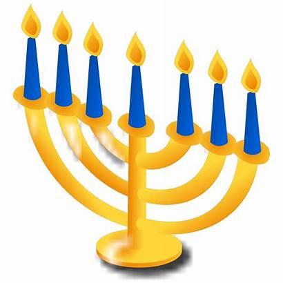 Svg Hanukkah Candles Clipart Clip Cartoon Web