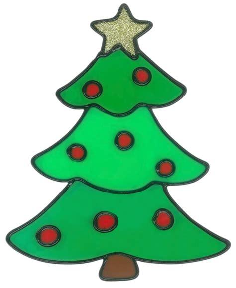 fensterdeko basteln mit kindern magicgel fensterbilder weihnachten tannenbaum 15 x 19 cm fensterdeko f 252 r das basteln mit