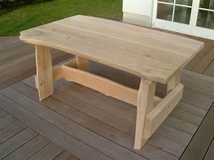 Gartentisch Holz Massiv : gartentisch holz massiv rustikal my blog ~ Indierocktalk.com Haus und Dekorationen