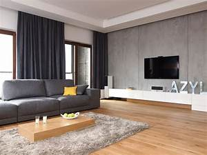 10 modern grey living room interior design ideas https for Interior design grey rooms