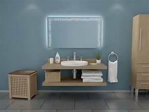 Badspiegel Mit Led Beleuchtung : badspiegel mit led beleuchtung bron ~ Buech-reservation.com Haus und Dekorationen