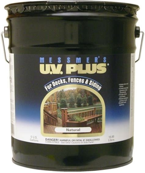 messmers uv  wood  deck stain  gallon