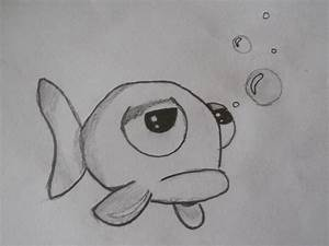Sad Fish Drawing - cinomann17 © 2018 - Jun 15, 2011
