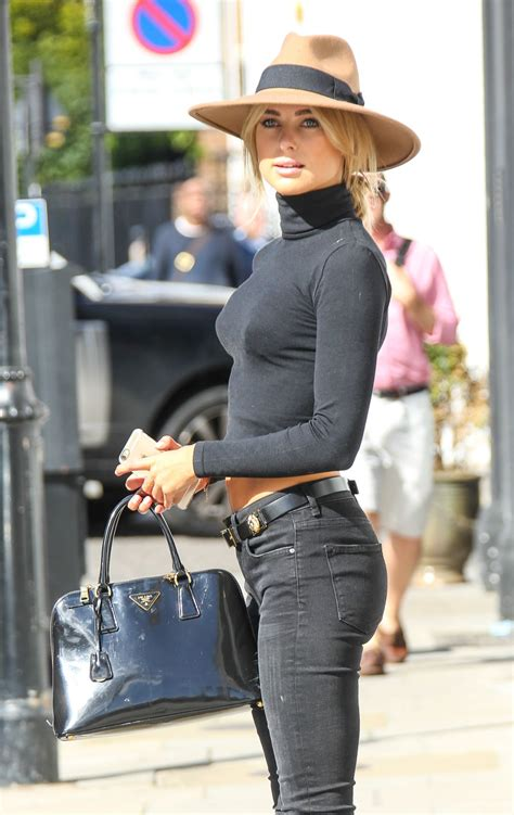 kimberley garner casual style   london september