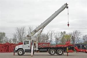 Crane Hotline  Item  208571  Boom Truck    Terex