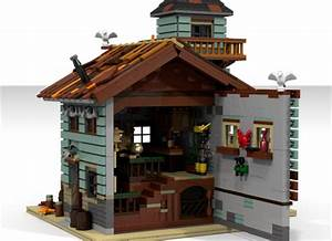 LEGO Ideas Old Fishing Store Achieves 10000 Supporters