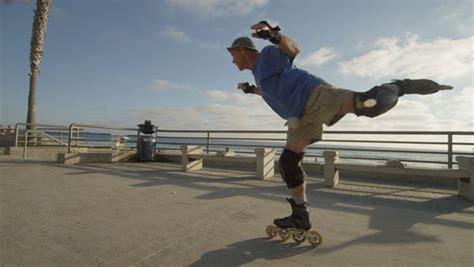 documentary  pacific beach rollerblader screens