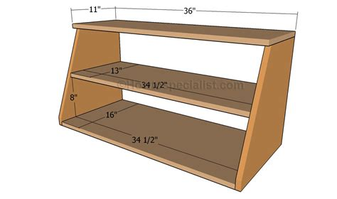 build  shoe organizer howtospecialist   build step  step diy plans