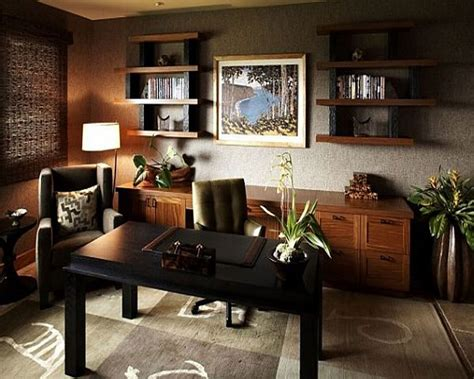 50 Modern Home Office Design Ideas For Inspiration : Decoración De Despacho Interior Elegante Y Moderno