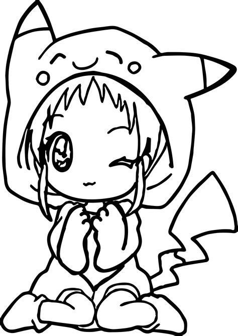 anime girl coloring pages coloringsuitecom