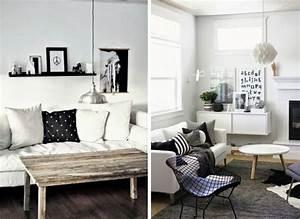 Idee Salon Scandinave : inspiration salon scandinave le monde de l a ~ Melissatoandfro.com Idées de Décoration