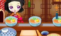 sue cuisine chinoise jeu gratuit en ligne
