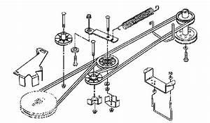 32 John Deere Lt166 Mower Deck Belt Diagram