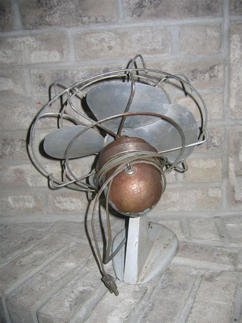 vintage fans for sale old vintage metal oscillating electric fan item 816 for