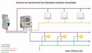 Comment brancher un télérupteur modulaire ou encastrable ? 123elec