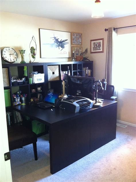 ikea bureau expedit 36 best images about his and hers