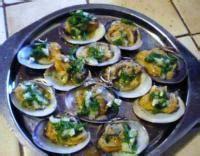 cuisiner des palourdes palourdes farcies aux herbes et échalotes recette iterroir