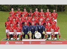 Robert Lewandowski and Co strike a pose for Bayern Munich
