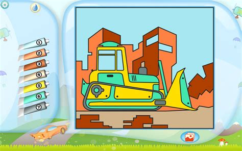 Supercoloring.com is a super fun for all ages: Bulldozer Coloring Page. Printables. Apps for Kids.