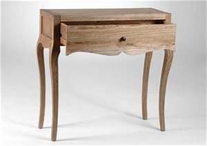 petite console bois naturel With awesome petit meuble d entree design 1 petit meuble dentree 2 portes et 3 tiroirs chene blanchi