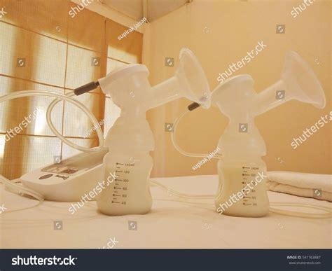 Pump Breast Milk On Bed Stock Photo 541763887 Shutterstock