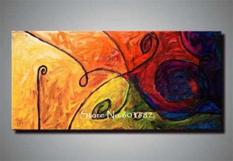 discount  handmade large canvas wall art abstract