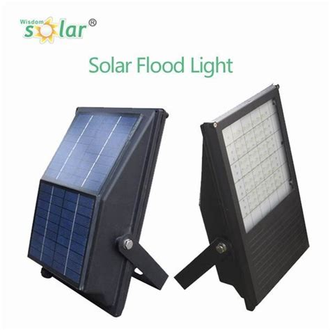 2016 all in one portable solar powered led flood light